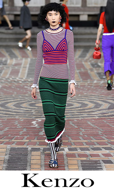 Lifestyle Kenzo Women's Clothing Spring Summer