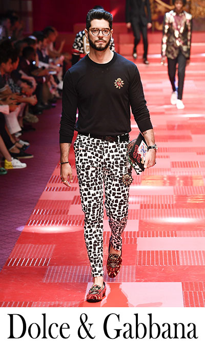 New Arrivals Dolce Gabbana 2018 Men's Clothing