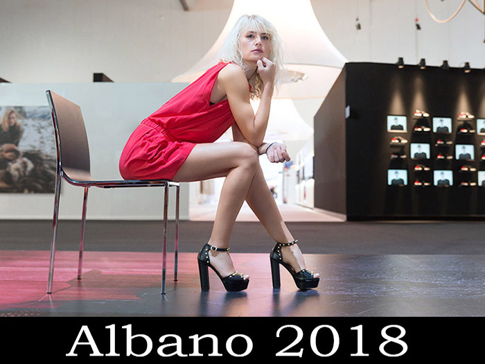Albano Shoes Spring Summer 2018 Women's Footwear