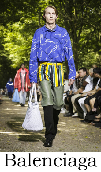 Clothing Balenciaga Spring Summer 2018 Men's