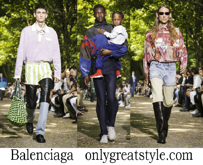 Clothing Balenciaga Spring Summer Men's Style Brand