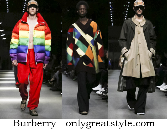 Clothing Burberry Fall Winter Men's Style Brand