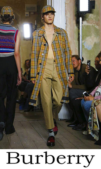 Clothing Burberry Spring Summer 2018 Men's