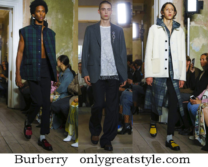 Clothing Burberry Spring Summer Men's Fashion