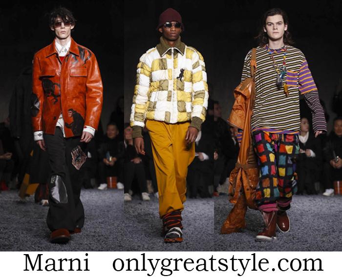 Clothing Marni Fall Winter Men's Fashion Lifestyle