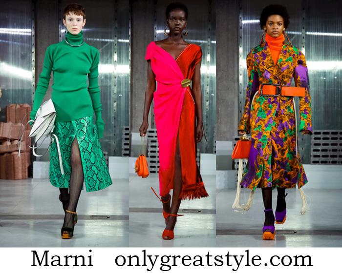 Clothing Marni Fall Winter Women's Fashion Style Brand