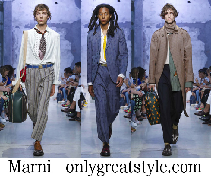 Clothing Marni Spring Summer Men's Fashion