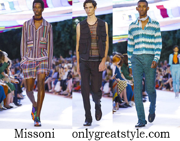 Clothing Missoni Spring Summer Men's Lifestyle