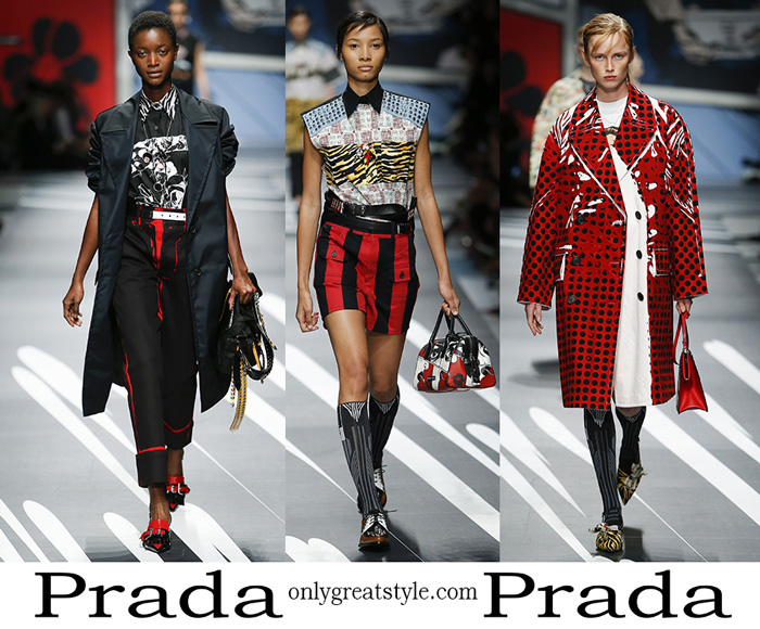 Clothing Prada Spring Summer 2018 Women's Fashion