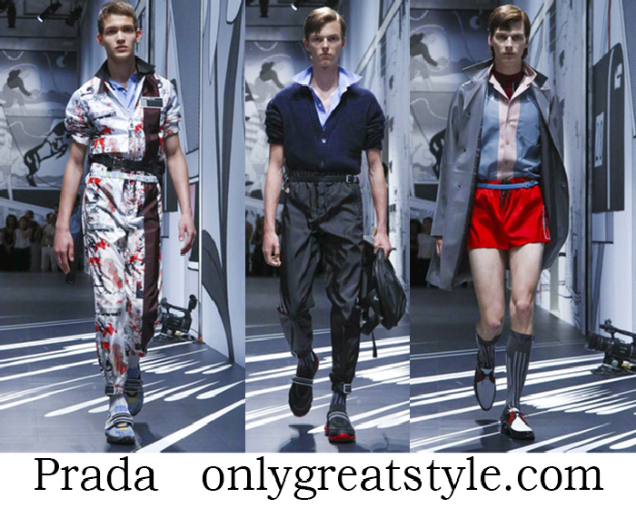 Clothing Prada Spring Summer Men's Lifestyle
