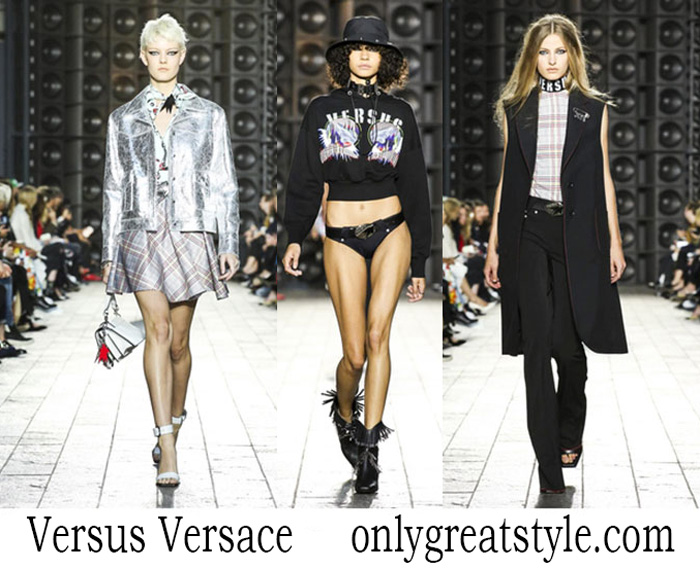 Clothing Versus Versace Spring Summer Style Brand