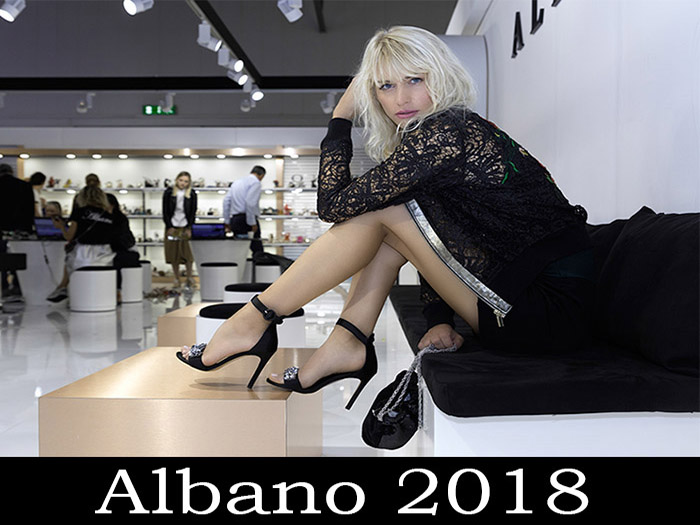 Collection Albano footwear spring summer 2018