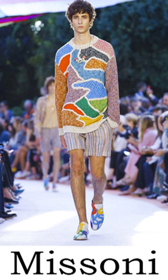 Fashion News Missoni 2018 Men's Clothing