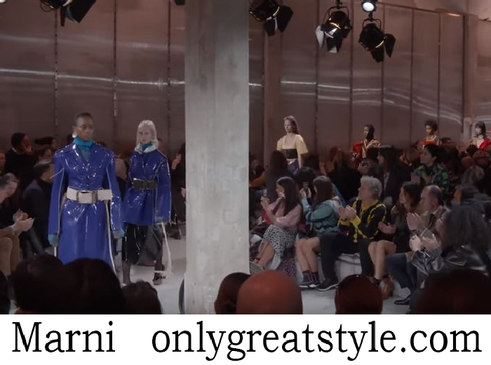 Fashion Show Marni Women's Fall Winter 2018 2019