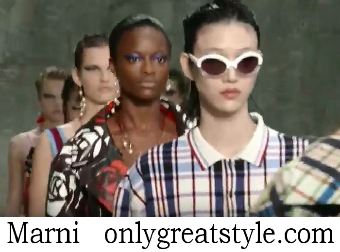 Fashion Show Marni Women's Spring Summer 2018