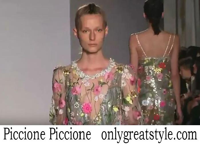 Fashion Show Piccione Piccione Women's Spring Summer 2018