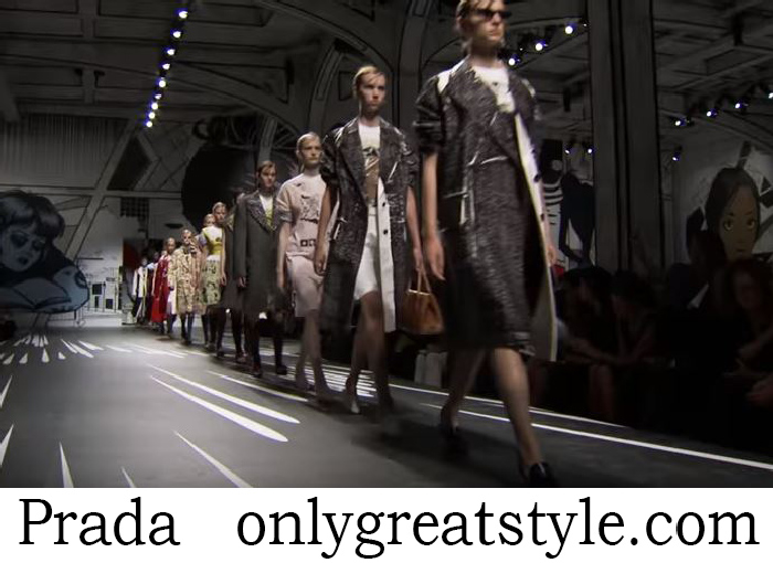 Fashion Show Prada Women's Spring Summer 2018