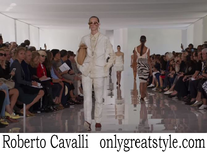 Fashion Show Roberto Cavalli Women's Spring Summer 2018