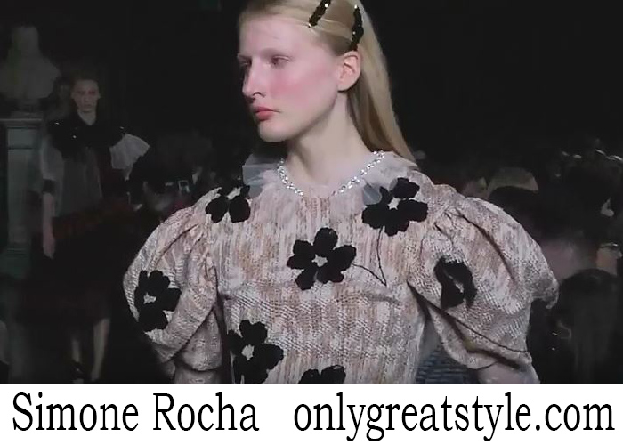 Fashion Show Simone Rocha Women's Spring Summer 2018