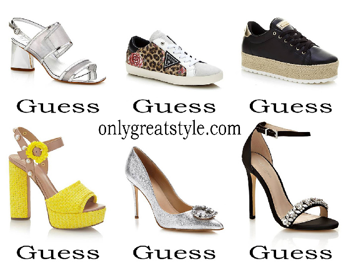 Guess Shoes Spring Summer Women's Footwear