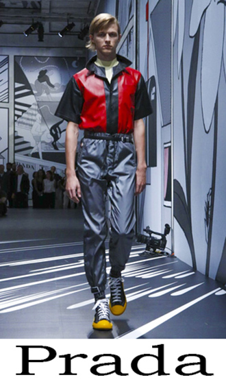 Lifestyle Prada Men's Clothing Spring Summer