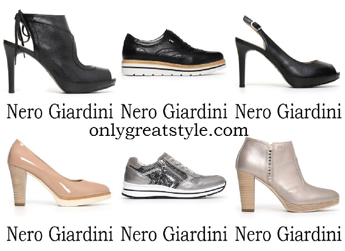 Nero Giardini Shoes Spring Summer 2018 Footwear