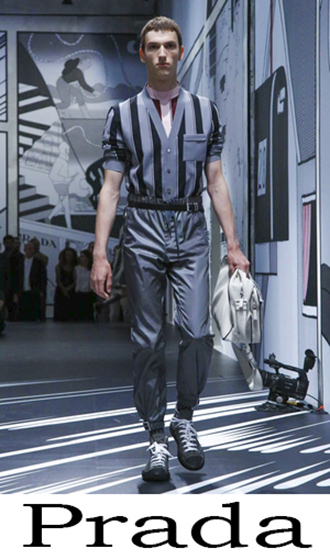 Prada Men's Clothing Spring Summer