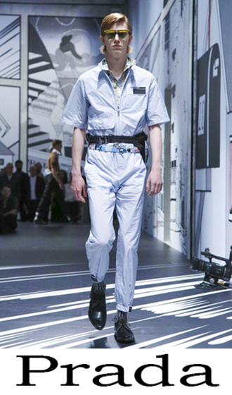 Style Brand Prada Men's Clothing Spring Summer