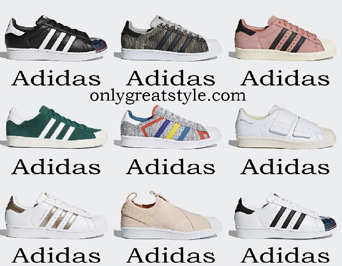 Adidas Superstar Women's Shoes Spring Summer