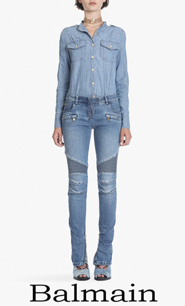 Balmain Jeans 2018 Women's New Arrivals