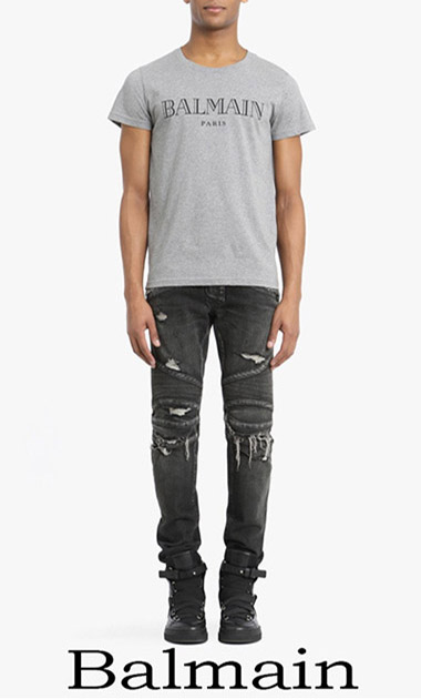 Balmain Spring Summer 2018 Men's T Shirts