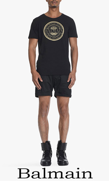 Balmain T Shirts 2018 Men's New Arrivals