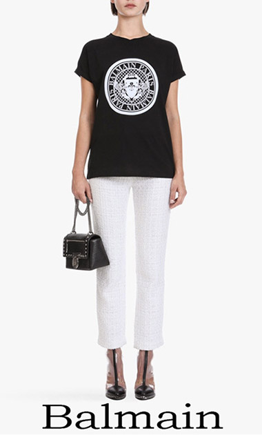 Balmain T Shirts 2018 New Arrivals Women's