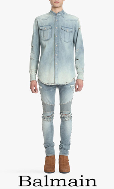 Clothing Balmain Denim Spring Summer Men's