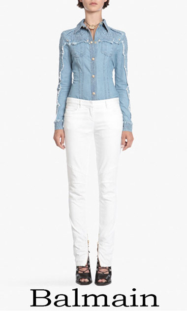 Clothing Balmain Denim Spring Summer Women's