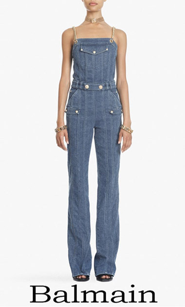 Clothing Balmain Jeans 2018 Women's Spring Summer