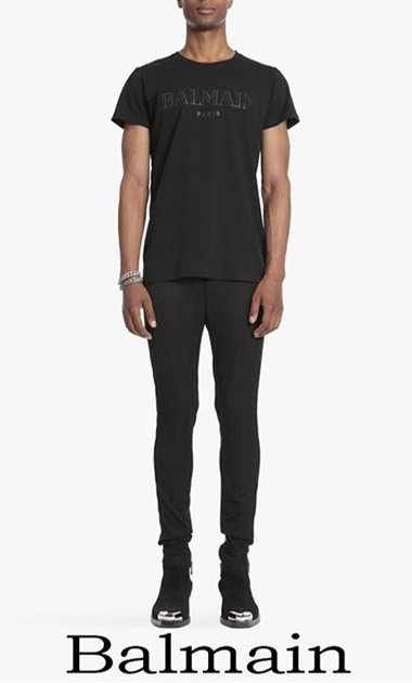 Clothing Balmain T Shirts 2018 Men's Spring Summer