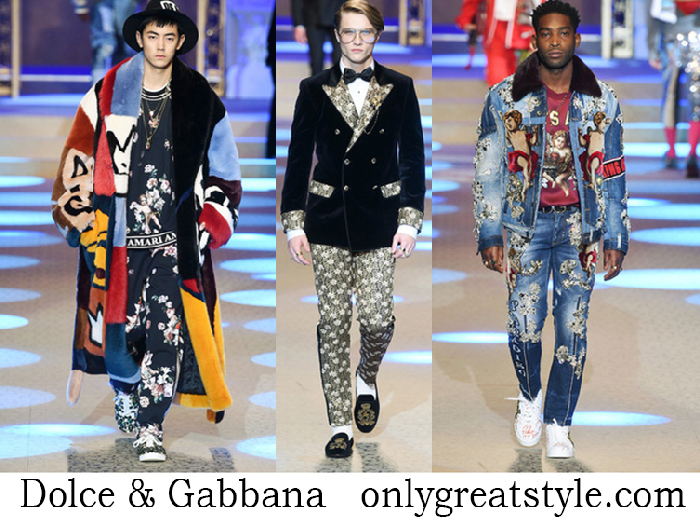 Dolce Gabbana Clothing Fall Winter Men's Fashion