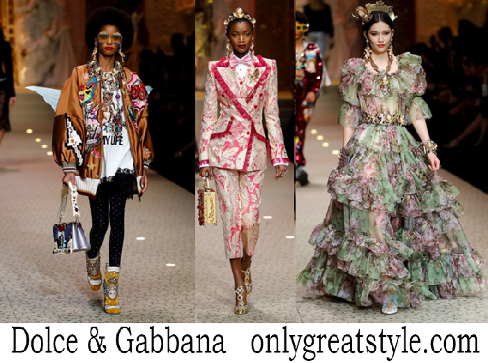 Dolce Gabbana Clothing Fall Winter Women's Lifestyle