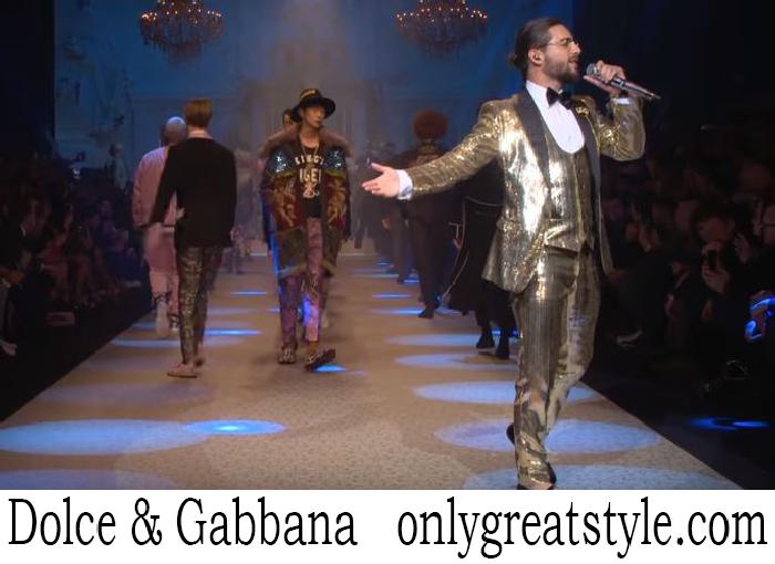 Fashion Show Dolce Gabbana Men's Fall Winter 2018 2019