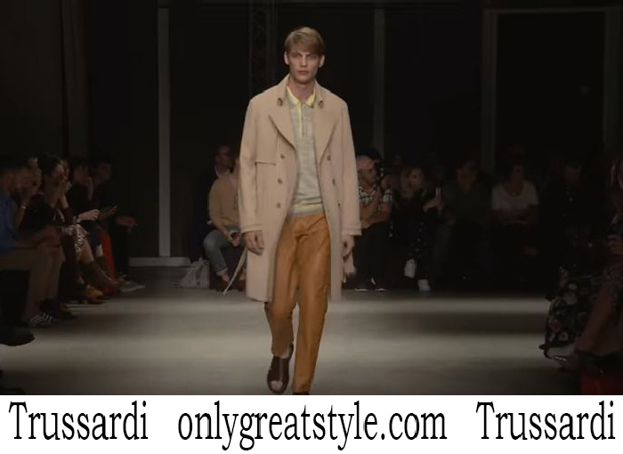 Fashion Show Trussardi Men's Spring Summer 2018