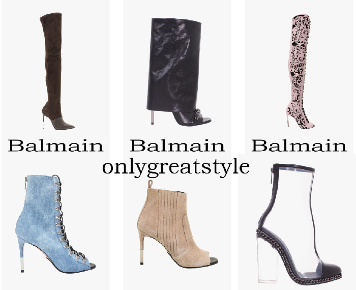 New Arrivals Balmain Boots Women's Spring Summer