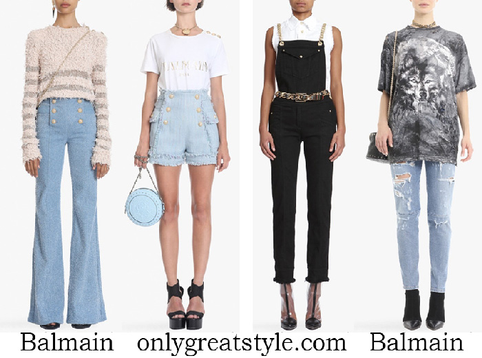 New Arrivals Balmain Jeans Women's Spring Summer