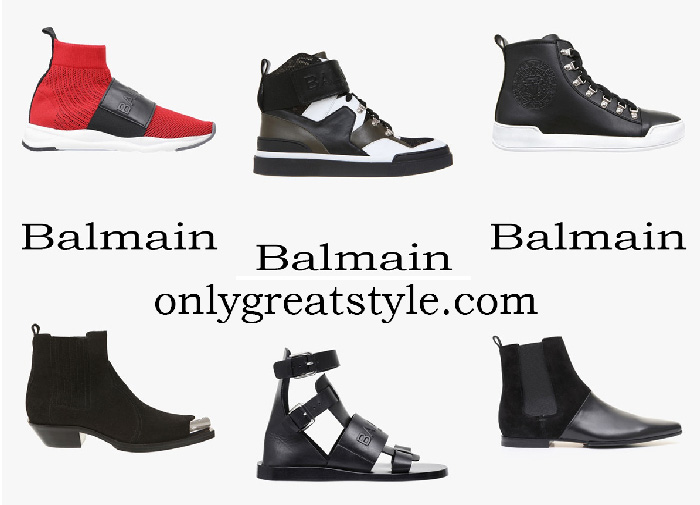 New Arrivals Balmain Shoes Men's Spring Summer