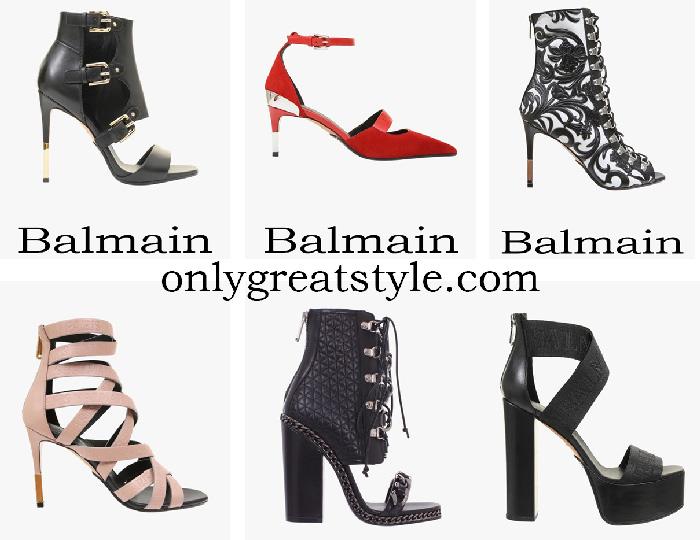 New Arrivals Balmain Shoes Women's Spring Summer