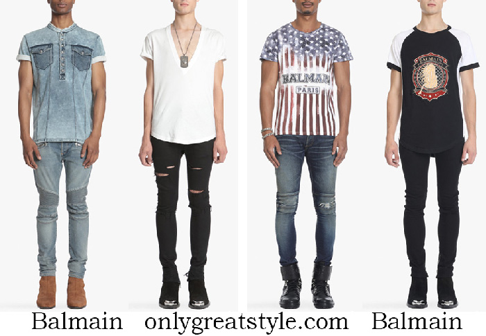 New Arrivals Balmain T Shirts Men's Spring Summer