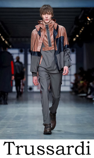 Trussardi Clothing Fall Winter 2018 2019 Men's