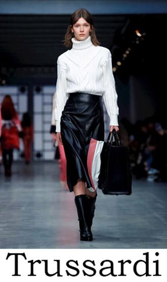 Trussardi Clothing Fall Winter 2018 2019 Women's Look