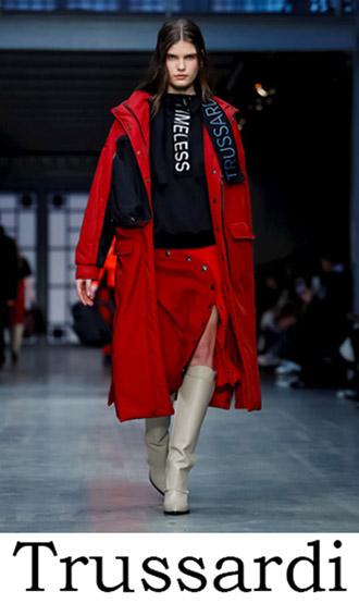 Trussardi Clothing Fall Winter 2018 2019 Women's News