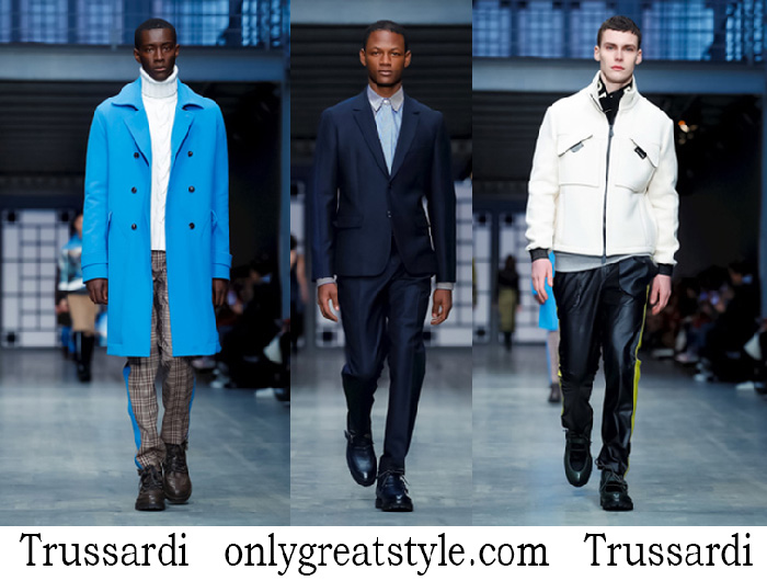 Trussardi Clothing Fall Winter Men's Lifestyle